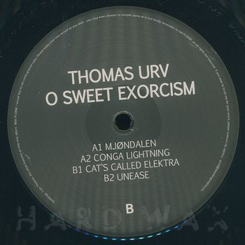 Cover art - Thomas Urv: O Sweet Exorcism