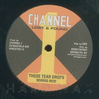 Cover art - Norris Reid: Those Tear Drops