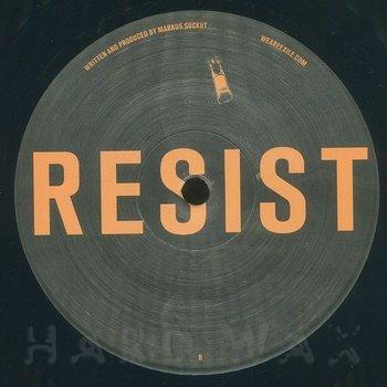 Cover art - Markus Suckut: Resist