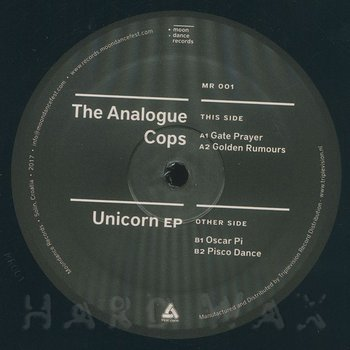 Cover art - The Analogue Cops: The Unicorn