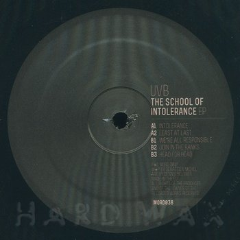 Cover art - UVB: The School Of Intolerance