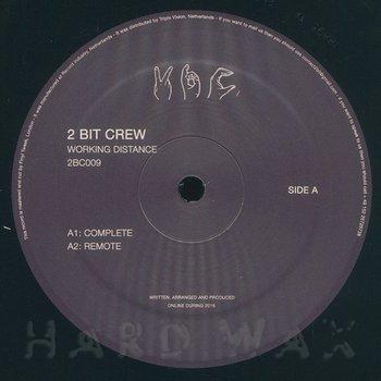 Cover art - 2 Bit Crew: Working Distance