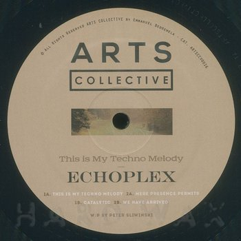 Cover art - Echoplex: This Is My Techno Melody