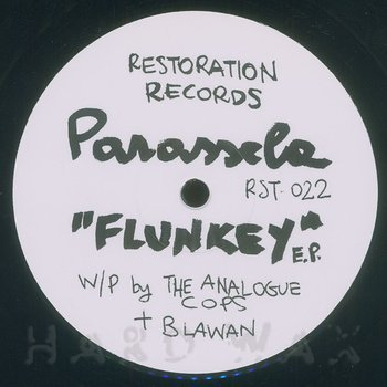 Cover art - Parassela: Flunkey