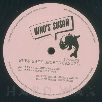 Cover art - Raär / Rick Sheen: When She's Sports Casual