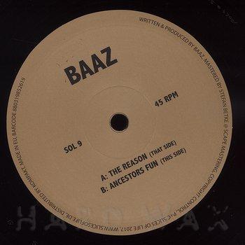 Cover art - Baaz: The Reason