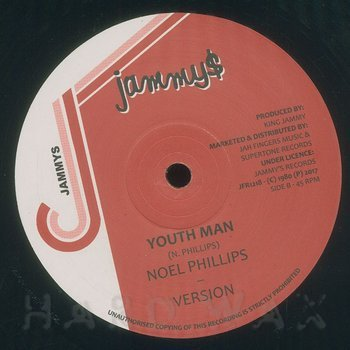Cover art - Noel Phillips: Youthman