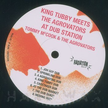 Cover art - King Tubby: Meets The Aggrovators At Dub Station