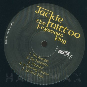 Cover art - Jackie Mittoo: The Keyboard King