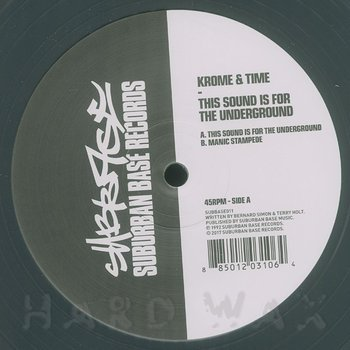Cover art - Krome & Time: This Sound Is For The Underground