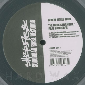 Cover art - Boogie Times Tribe: The Dark Stranger