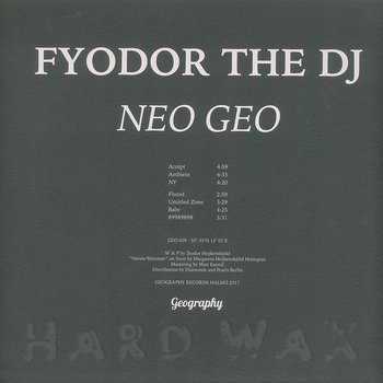 Cover art - Fyodor The DJ: Neo Geo
