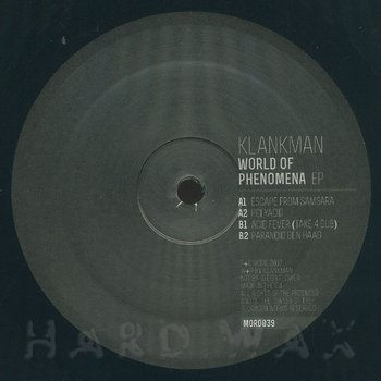 Cover art - Klankman: World Of Phenomena