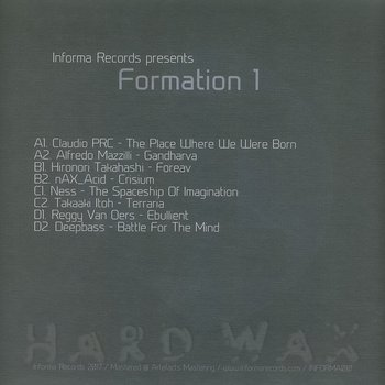 Cover art - Various Artists: Formation 1