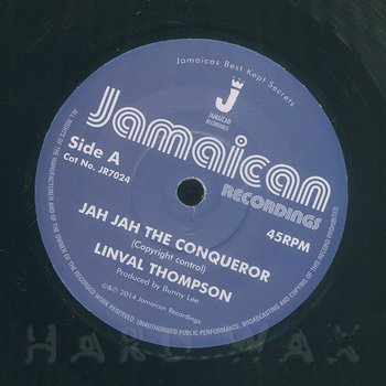 Cover art - Linval Thompson: Jah Jah The Conqueror