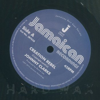 Cover art - Johnny Clarke: Creation Rebel