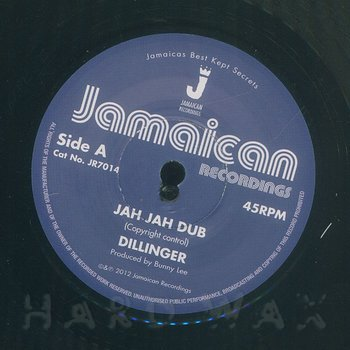 Cover art - Dillinger: Jah Jah Dub