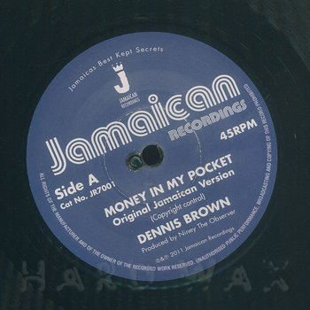 Cover art - Dennis Brown: Money In My Pocket