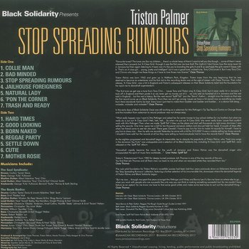 Cover art - Triston Palma: Stop Spreading Rumours