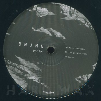 Cover art - Bnjmn: Paean