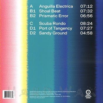 Cover art - Porter Ricks: Anguilla Electrica