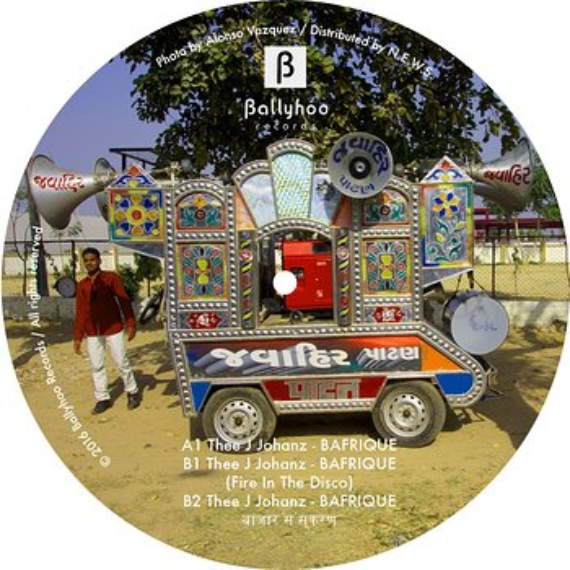 Cover art - Thee J Johanz: Bafrique