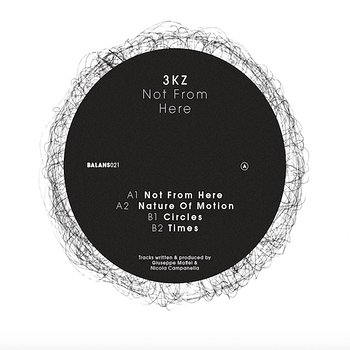 Cover art - 3KZ: Not From Here