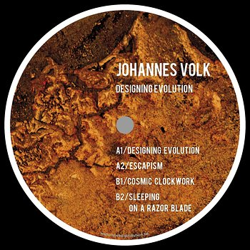 Cover art - Johannes Volk: Designing Evolution