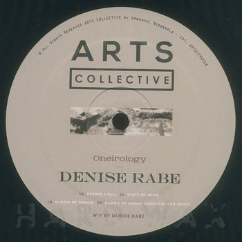 Cover art - Denise Rabe: Oneirology