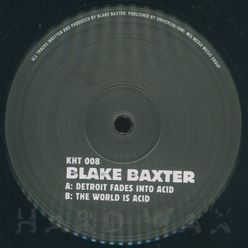 Cover art - Blake Baxter: Acid Life
