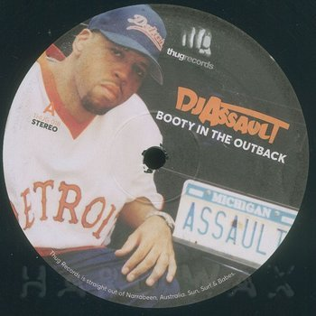 Cover art - DJ Assault: Booty In The Outback