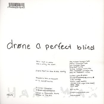 Cover art - Drøne: A Perfect Blind