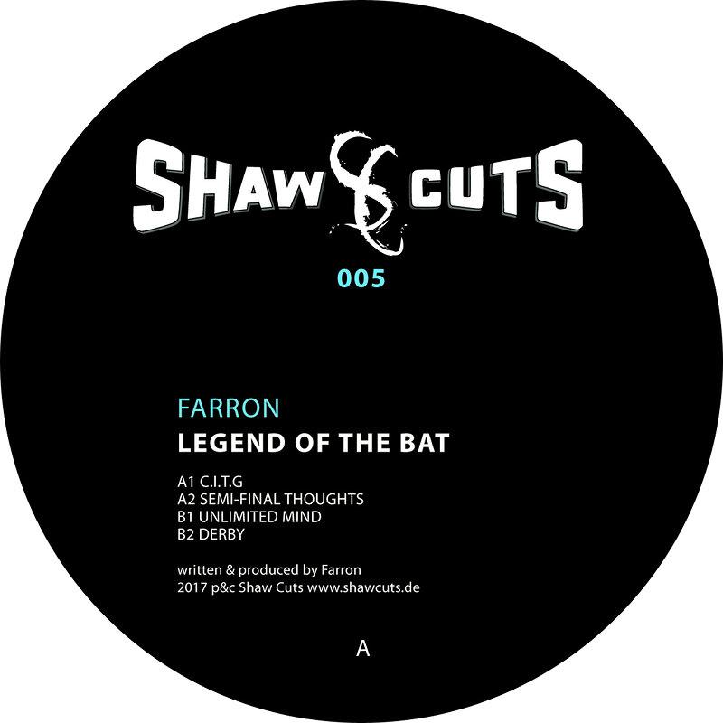 Cover art - Farron: Legend Of The Bat
