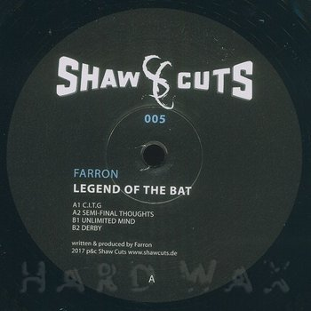 Cover art - Farron: Legend Of The Bat