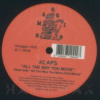 Cover art - Klaps: All The Way You Move