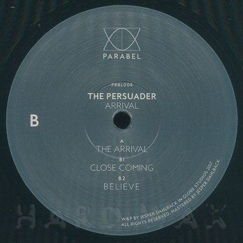 Cover art - The Persuader: Arrival