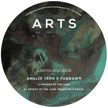 Cover art - Amelie Lens & Farrago: Weight Of The Land