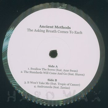 Cover art - Ancient Methods: The Asking Breath Comes To Each