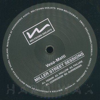 Cover art - Vesa-Matti: Miller Street Sessions EP