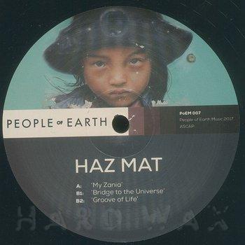 Cover art - Haz Mat: My Zania