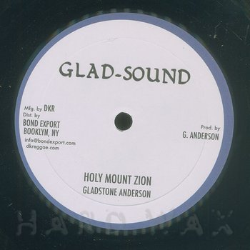 Cover art - Gladstone Anderson: Holy Mount Zion