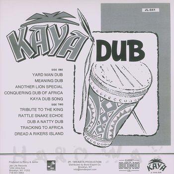 Cover art - Kaya: Kaya Dub