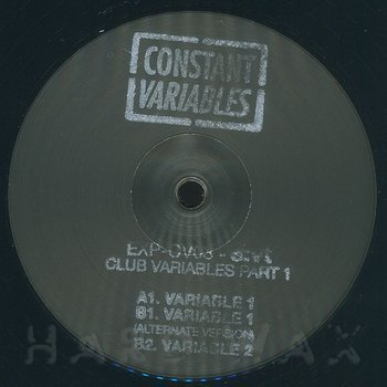 Cover art - S:VT: Club Variables Part 1