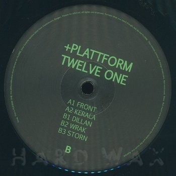 Cover art - Plattform: Twelve One