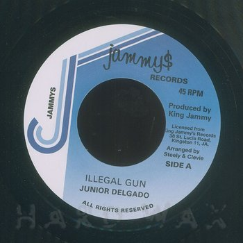 Cover art - Junior Delgado: Illegal Gun
