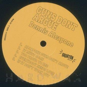Cover art - Dennis Alcapone: Guns Don't Argue