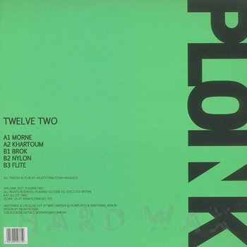 Cover art - Plattform: Twelve Two