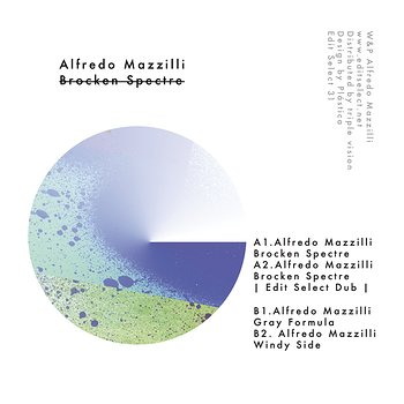Cover art - Alfredo Mazzilli: Broken Spectre