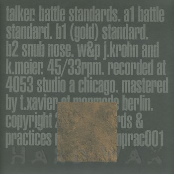 Cover art - Talker: Battle Standard