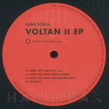 Cover art - Kuba Sojka: Voltan II